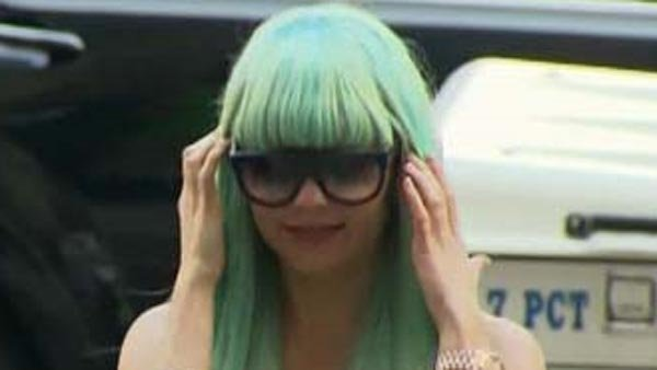 Amanda Bynes is undergoing treatment for post-traumatic stress disorder. (Source: CNN)