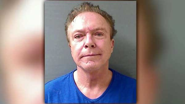 David Cassidy was busted for DUI after he was pulled over for driving with his high beams on. (Source: CNN)