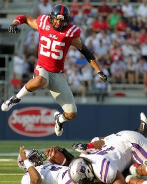 Cody Prewitt and Ole Miss could soar over the competition this year - or the weight of heavy expectations could bring them crashing back to earth. (Source: Joshua McCoy, Ole Miss Athletics)