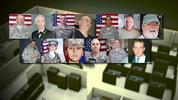 Hasan killed 13 people and injured 32 others in the Fort Hood massacre. (Source: U.S. Army/CNN)