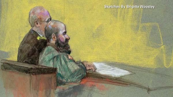 Nidal Hasan has been sentenced to death by a military jury. (Source: CNN)