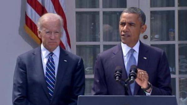 President Barack Obama speaks from the White House's rose garden asking for approval from Congress for military strikes in Syria following the use of a chemical weapon that killed more than 1,400 Syrians.