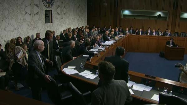 A Senate committee has voted to give President Obama the authority to use military force against Syria. (Source: CNN)