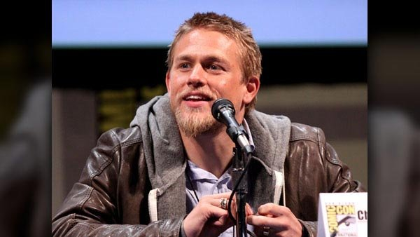 'Sons of Anarchy' star Charlie Hunnam has been cast as Christian Grey. (Source: Gage Skidmore/Flickr/MGN Online)