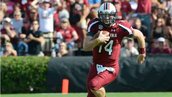 South Carolina QB Connor Shaw will challenge Georgia's defense, which got gouged last week at Clemson. (Source: South Carolina Athletics)