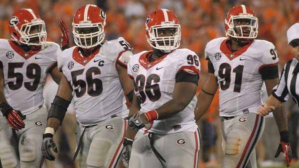 Georgia's defense will be trying to regroup after last week's 38-35 loss on the road to Clemson. (Source: UGA Athletics/Steven Colquitt)