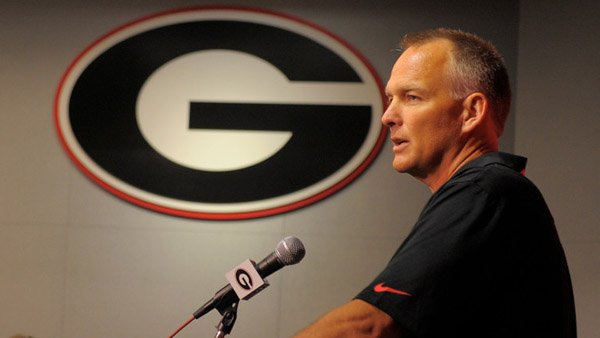 This man, Georgia coach Mark Richt, won a big game Saturday against South Carolina. (Source: Geo