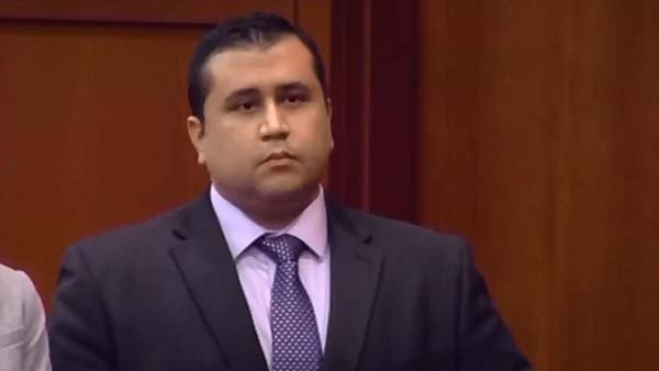 George Zimmerman, shown here during his trial, was questioned but not arrested after a domestic incident Monday. (Source: CNN)