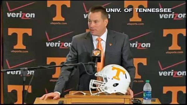 Butch Jones has brought a new look and new feel to Knoxville, and they get their first major test against Oregon. (Source: Tennessee Athletics)