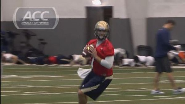 Quarterback Tom Savage and the Pitt Panthers face the New Mexico Lobos on Saturday. (Source: ACC Digital Network)