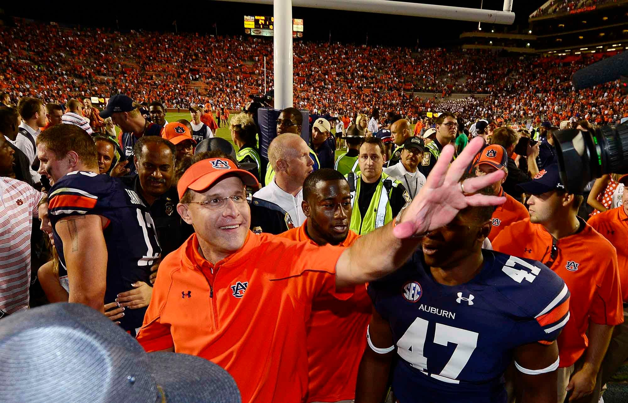 This man, head coach Gus Malzahn, is making Auburn look good again. (Source: Todd van Emst/Auburn University)