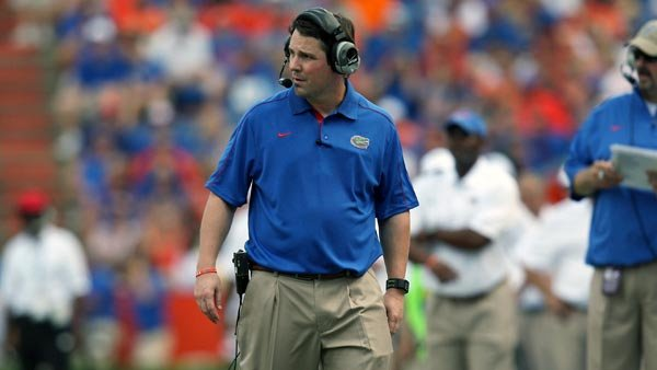 "Will Muschamp and the Gators have to find a way to put some, shall we say, ""bite"" into their offense. (Source: UF Communications)"