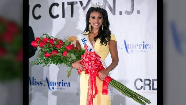 Miss America Nina Davuluri got her first taste of being a nationally recognized beauty - haters on Twitter. (Source: Miss America Organization/Facebook/MGN Online)