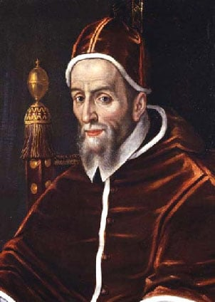 Urban VII, the shortest reigning pope, died Sept. 27, 1590. (Source: Wikimedia Commons)