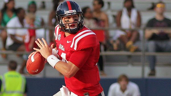 If Ole Miss can beat Alabama, the sky is the limit this season. But a strong performance from quarterback Bo Wallace is the one thing the Rebels must have. (Source: Joshua McCoy, Ole Miss Athletics)