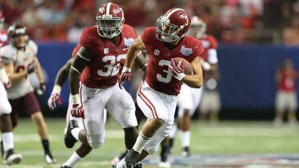 Ole Miss will try to exploit Alabama's vulnerable secondary; Vinnie Sunseri will have something to say about that. (Source: UA Athletics Communications)