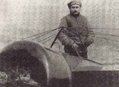 French fight pilot Roland Garros, shown here, was born Oct. 6, 1888, and died Oct. 5, 1918. (Source: Wikimedia Commons)