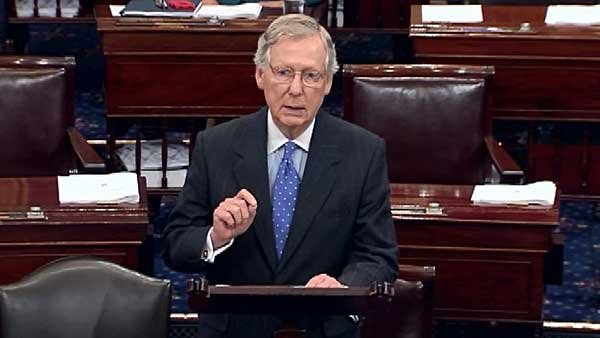 Sen. Mitch McConnell has worked out a budget deal with Sen. Harry Reid. (Source: CNN)