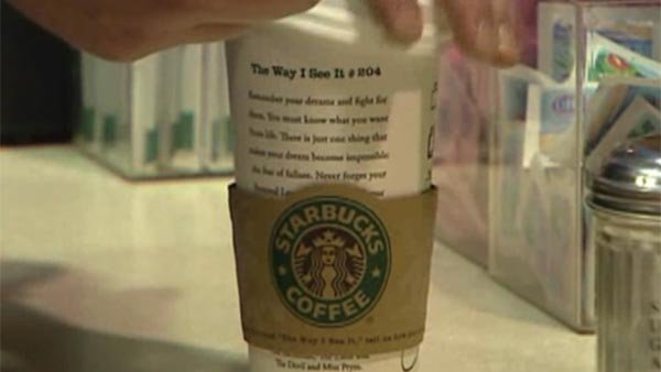 Starbucks petition seeks end to government shutdown. (Source: CNN)