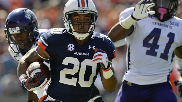 Auburn's running game is by committee, and Corey Grant is one of several key members. (Source: Todd Van Emst/Auburn Athletics)