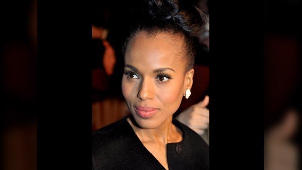 Current Hollywood it girl Kerry Washington will be just the third black woman in seven years to hold Saturday night live. (Source: Georges Baird/MGN Online)