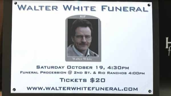 Ticket sales for the fake funeral have raised more than $11,000 for a homeless shelter. (Source: CNN/KRQE)
