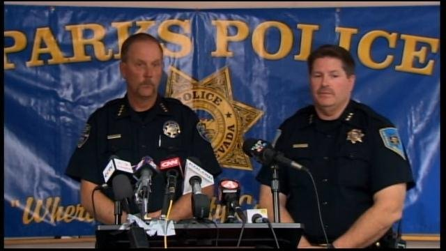 Washoe County School District Police Chief Mike Mieras and ParksDeputyPoliceChiefTom Miller says there are no answers to why a student shot himself and  two others Monday at Sparks Middle School in Sparks, NV.