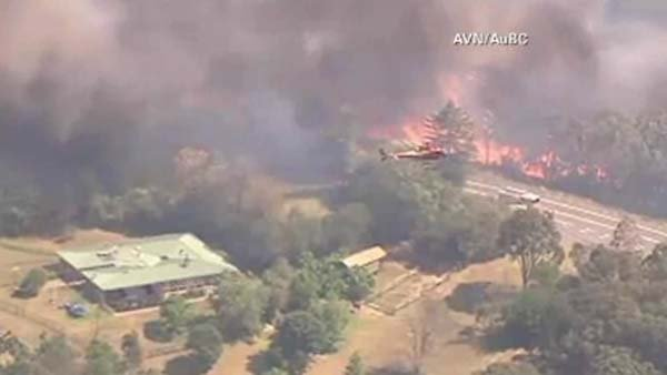 More than 60 wildfires continue to rage across New South Wales, Australia. (Source: CNN)