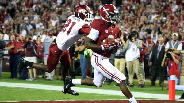 When Amari Cooper and Alabama rolled past Arkansas, we were reminded again what makes the Crimson Tide a force in college football. (Source: Alabama Athletic Communications)