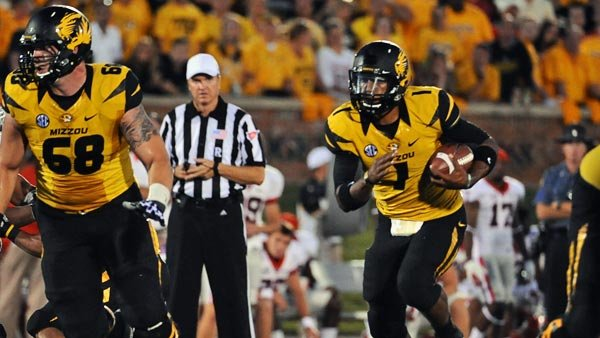 If Missouri can survive the next few weeks without James Franklin, it could set up some interesting matchups