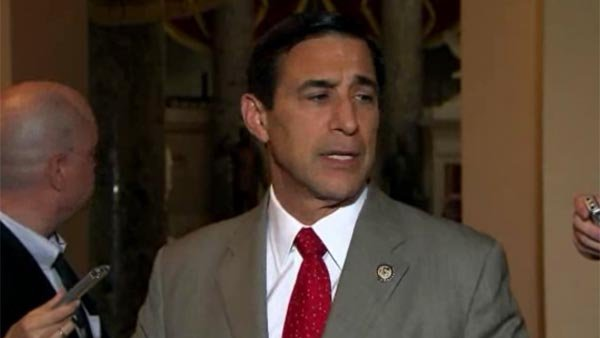"Issa threatens HHS Sec. Sebelius with ""compulsory"" action over information on Obamacare website. (Source: CNN)"