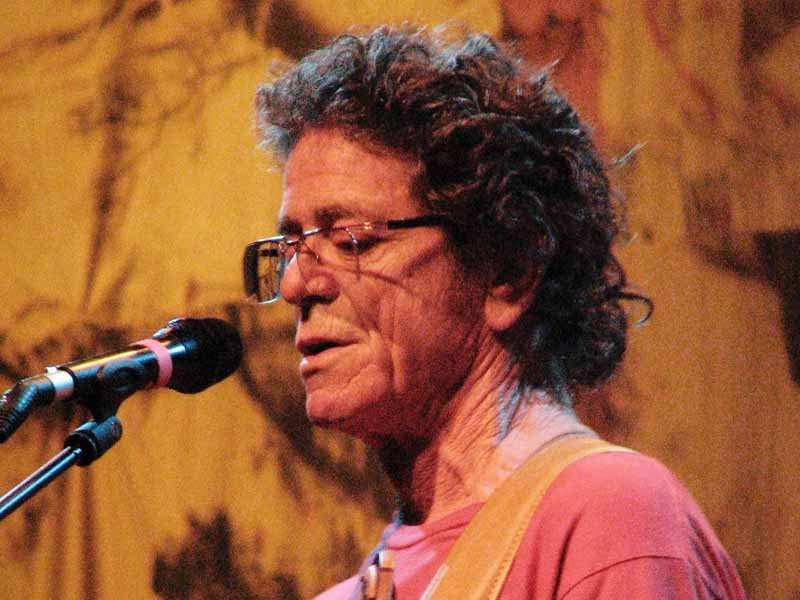Lou Reed performs in Malaga, Spain. (Source:Marcelo Costa/Wikimedia Commons/MGN Online)