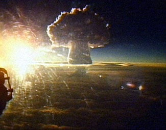Tsar Bomba is detonated Oct. 30, 1961. (Source: Wikimedia Commons)