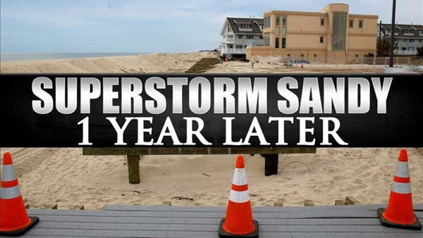 It's been one year since residents of the Northeast were bracing for Superstorm Sandy.  (Source: MGN Online)