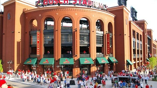 Cardinals fans have made a lot of good memories at Busch Stadium this season. It's too bad it's the last time they'll set foot inside the building until next April. (Source: Mitch Bennett/MGN)