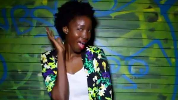 Short curly Afros are being worn. (Source: Shameless Maya/YouTube)