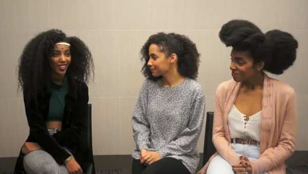 UrbanBushBabes discuss natural hair. (Source: Urbanbushbabes/YouTube)
