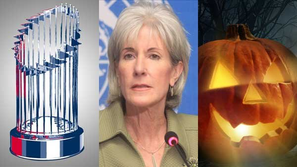 The World Series, apologies about the problems surrounding the federal healthcare exchange website and Halloween festivities all caught our eye this week.