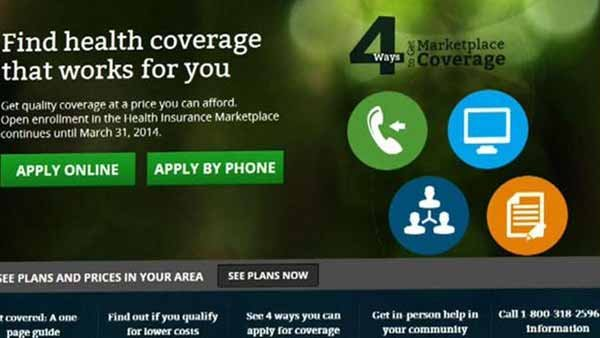 Documents posted online by a congressional committee show only six people signed up for Obamacare on Day 1 of the rollout. (Source: Healthcare.gov/MGN)
