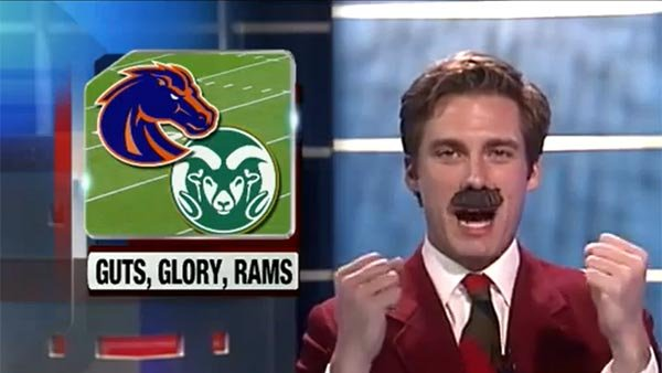 You may be watching the video of Idaho news sports director Paul Gerke out of a glass case of emotion, but the emotion is tickling your funny bone. (Source: Donovan Moore/YouTube)
