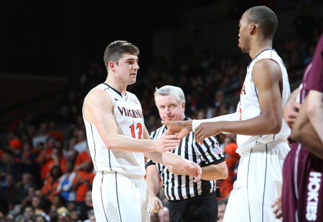 Joe Harris, left, and Akil Mitchell, right, could lead the Virginia Cavaliers to an ACC title in 2013-2014. (Source: UVA Athletics)