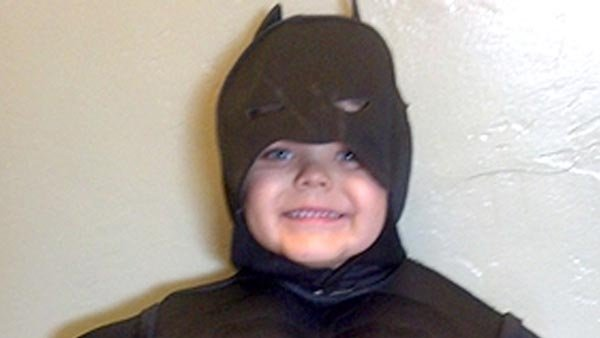 "Thanks to the Make-A-Wish Foundation, Miles is becoming ""Batkid"" for a day. (Source: sfwish.org)"