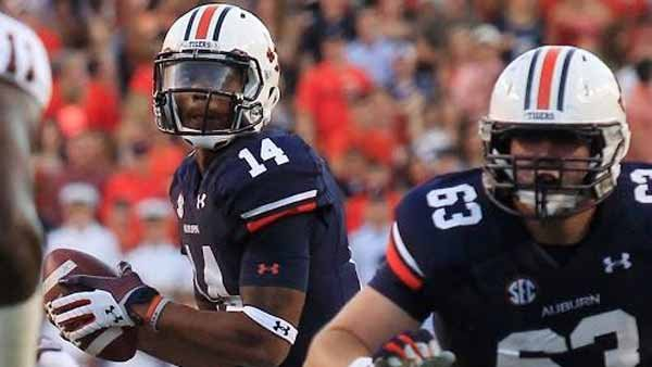 Quarterback Nick Marshall has been a big part of Auburn's turnaround season. (Source: Todd Van Emst/Auburn Ath