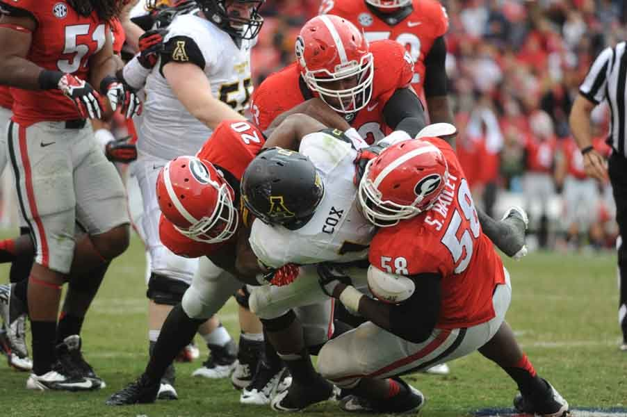Though not discussed here, Georgia became bowl eligible with a 45-6 win over Appalachian State. (Source: Georgia Athletics)