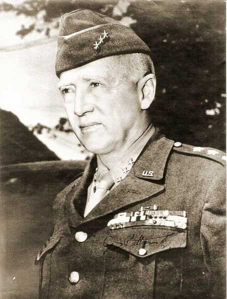 Gen. George Patton, shown here, was born Nov. 11, 1885. (Source: U.S. Army/Wikimedia Commons)