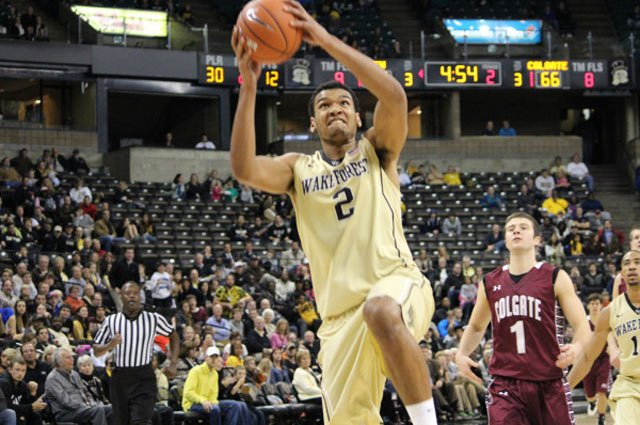 Wake Forest and Devin Thomas took care of Colgate on Friday. (Source: WakeForestSports.com)