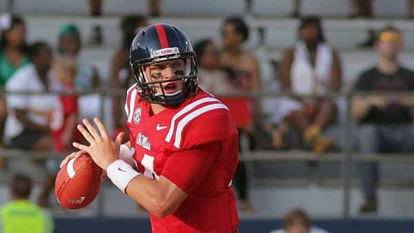 Bo Wallace and Ole Miss could derail Missouri's championship drive and make the Rebels the team of the future in the SEC. (Source: Joshua McCoy/Ole Miss Athletic