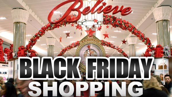 Black Friday has tons of deals - and tons of people that want to take advantage of hurried shoppers.