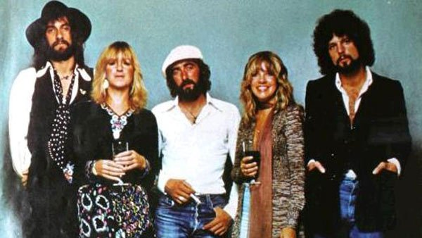 Christine McVie (second from the left) says she'd love to make her most recent reunion with Fleetwood Mac a permanent one. (Source: Warner Bros. Records/Wikimedia Commons)