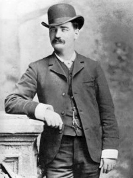 Bat Masterson, shown here, was born Nov. 26, 1853. (Source: Wikimedia Commons)